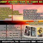 Seminar Tarot Psikologi / Tarot Reading!