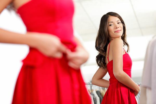 wearing-red-dress
