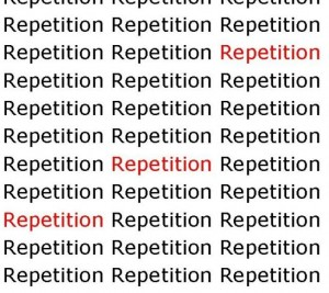 repetion