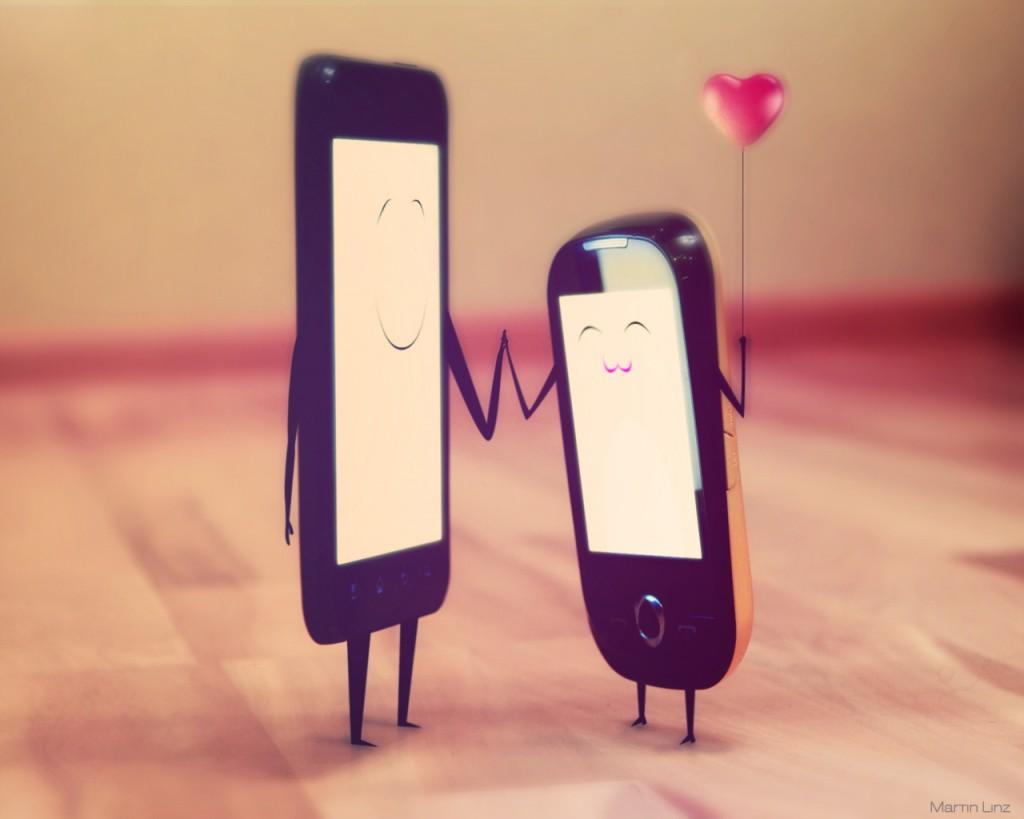 Karakter Cinta berdasarkan Gadget