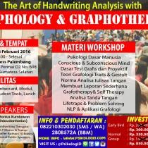 Handwriting Analysis with Graphology