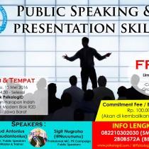 "Seminar Gratis! ""Public Speaking & Presentation Skills"""
