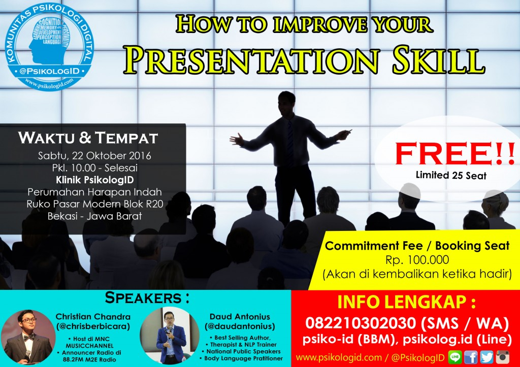 How to Improve Your Presentation Skill