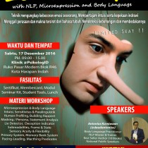 Workshop Psikologi : Lie Detector with NLP