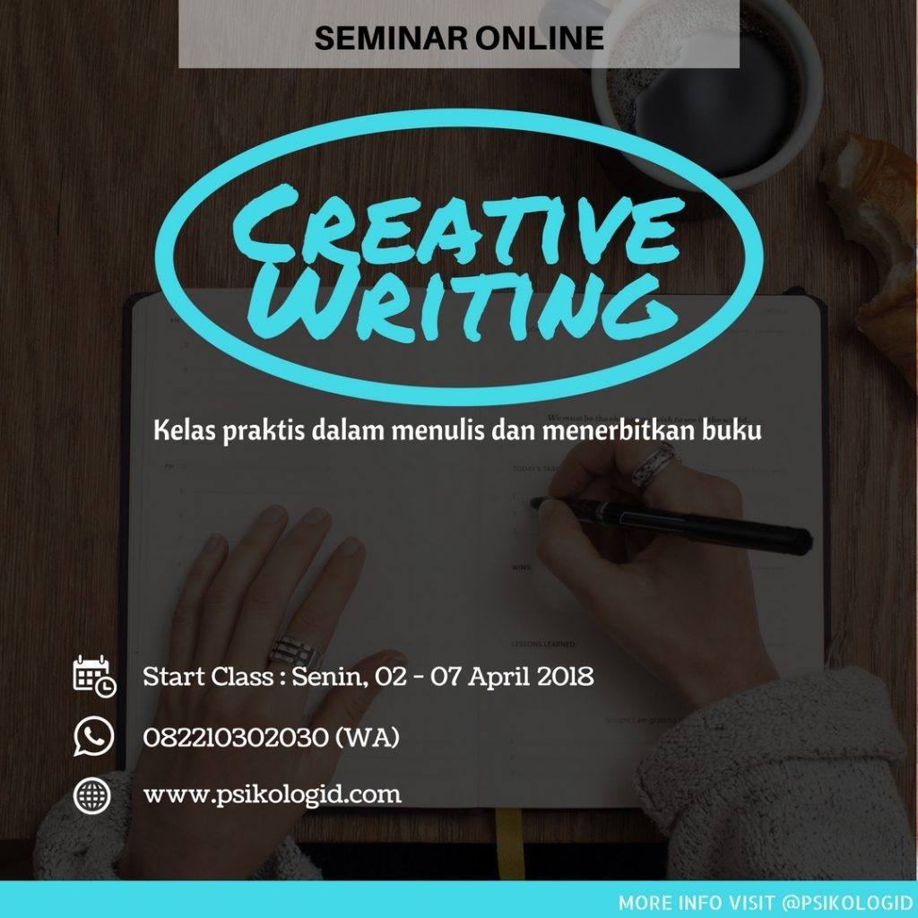Kelas Online : Creative Writing