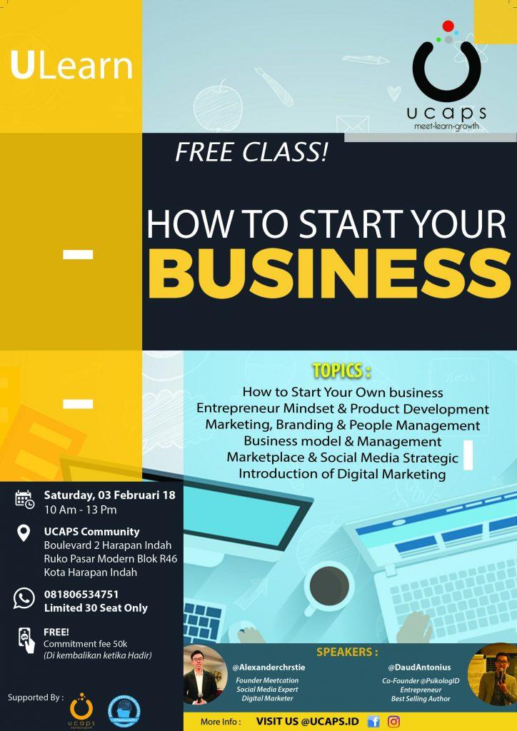 Seminar bisnis