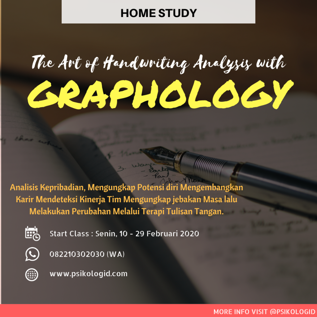 seminar workshop grafologi graphology