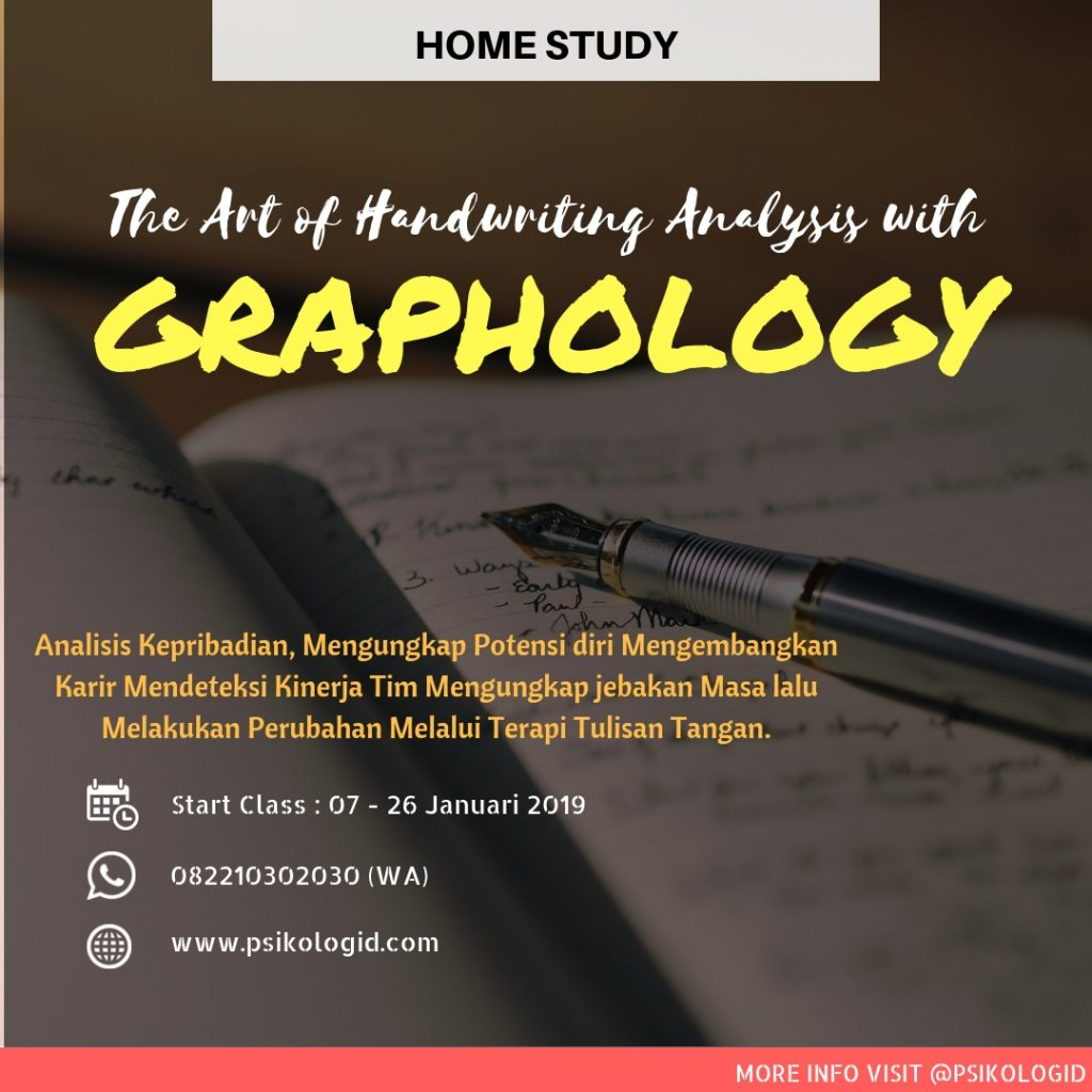 Grafologi, graphology