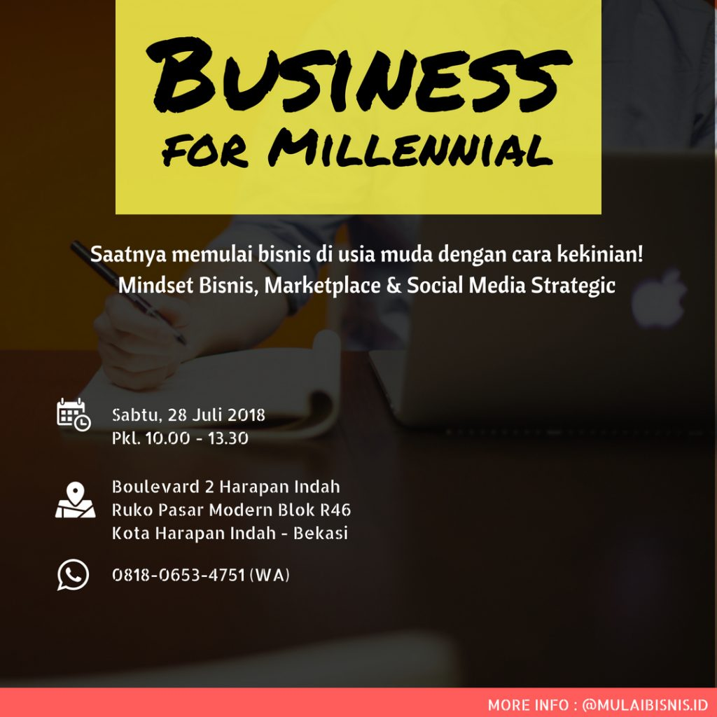 Seminar : Business for Millennials