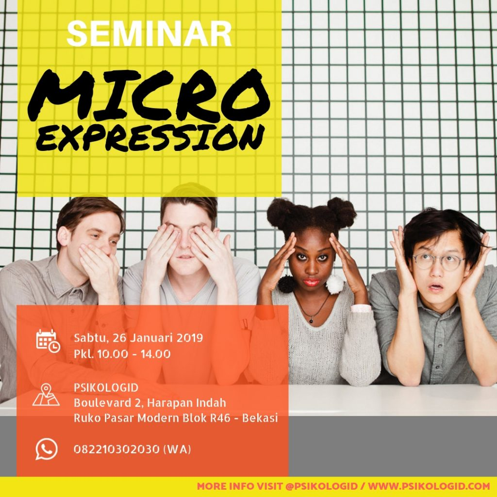 Seminar Psikologi : Microexpression & Body Language