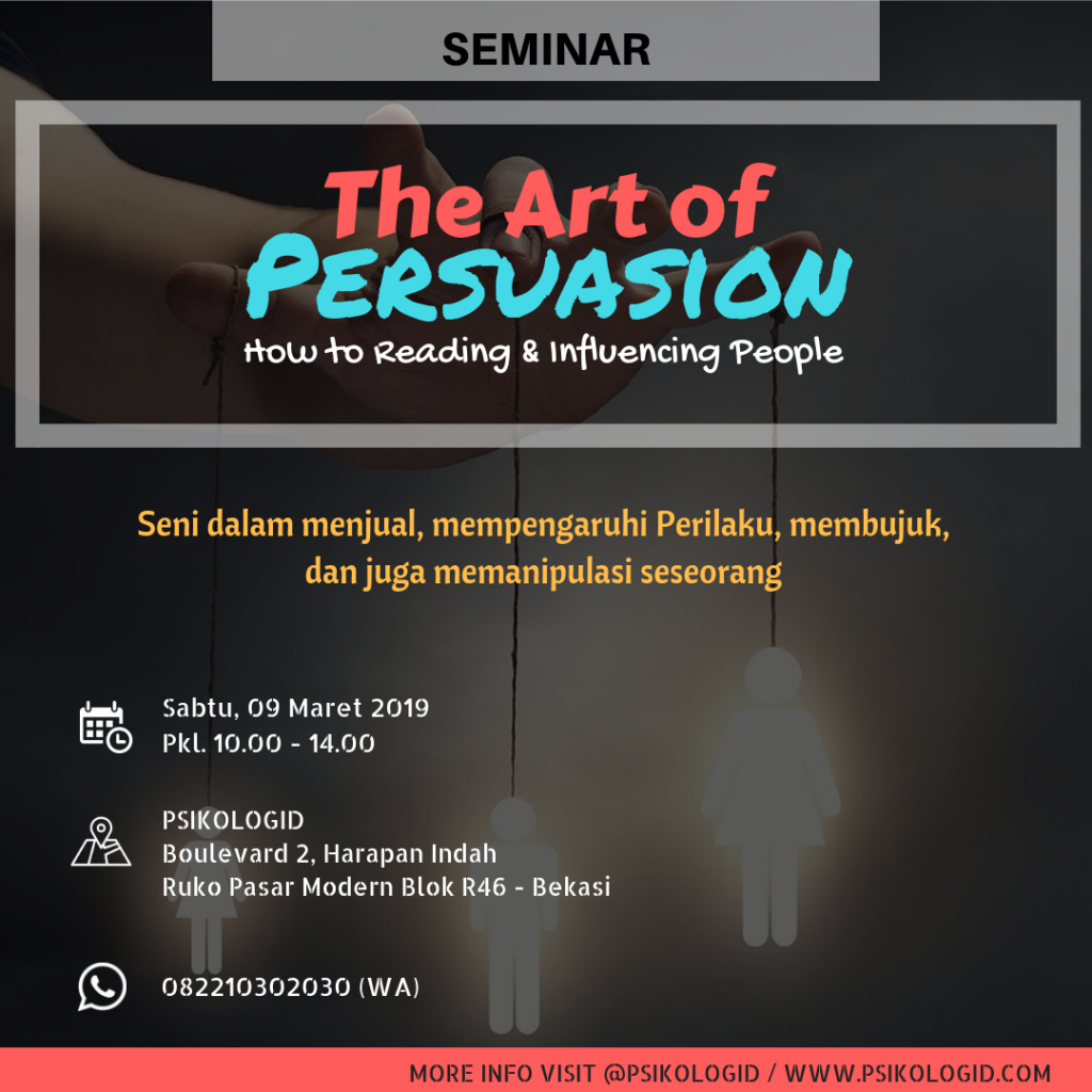 seminar psikologi : the art of persuasion