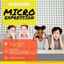 Seminar Psikologi : Microexpression