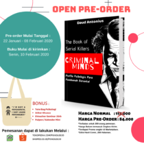buku psikologi : criminal Minds