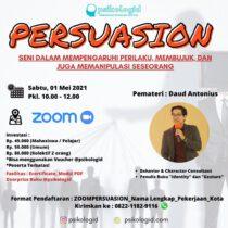 Kelas Zoom Psikologi : Persuasion