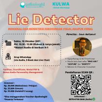 Kuliah WhatsApp Psikologi : Lie Detector
