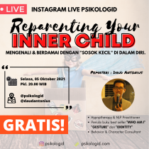Live Instagram : Reparenting your Inner Child